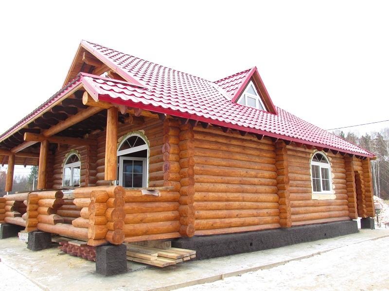 дом из рубленного сруба
