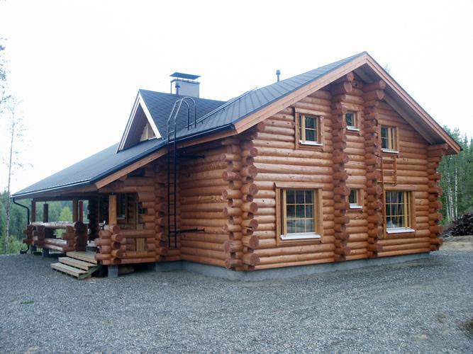 дом из рубленного сруба 4