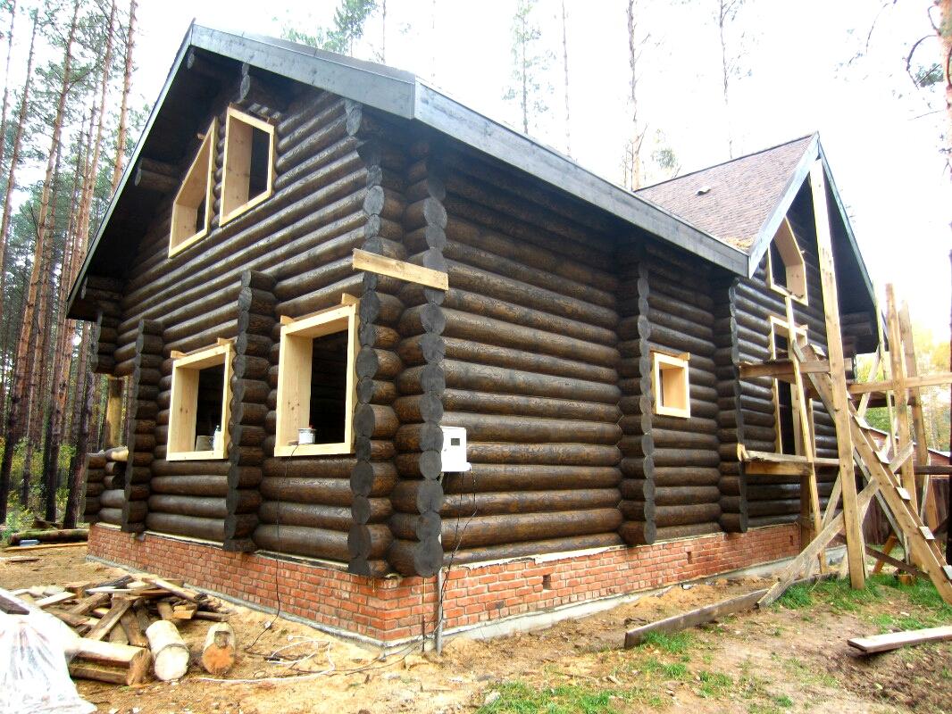 дом из рубленного сруба 3