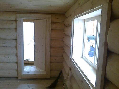 деревянная баня 4.5х5.5 (4)