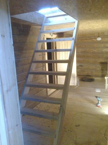 деревянная баня 6х6 (5)