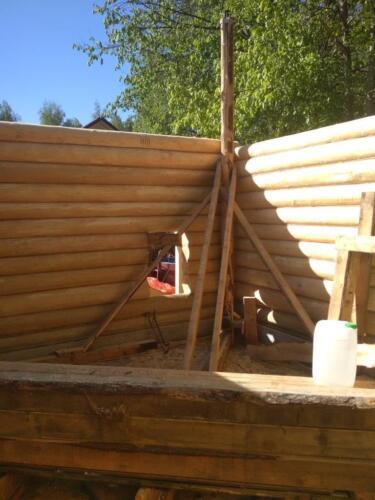 строительство бани 5