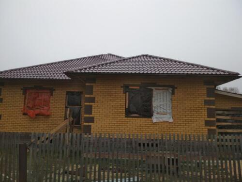 крыша из металлочерепицы 1