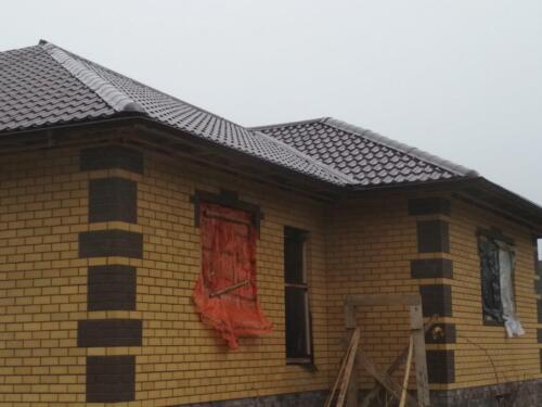 крыша из металлочерепицы 4