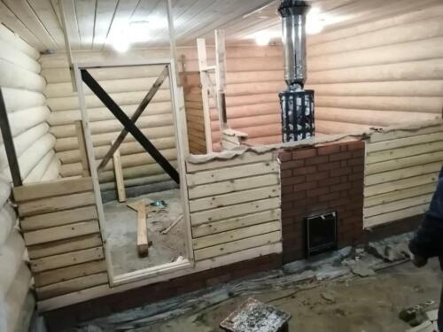 строительство бани 2