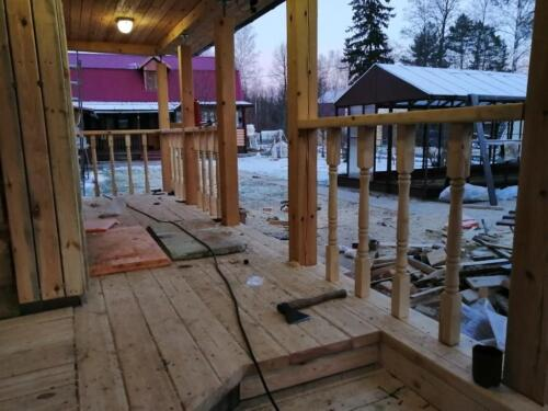 строительство бани 17